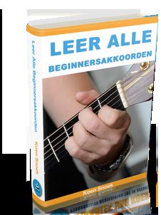 Koen Snoek - Leer alle beginnersakkoorden gratis ebook