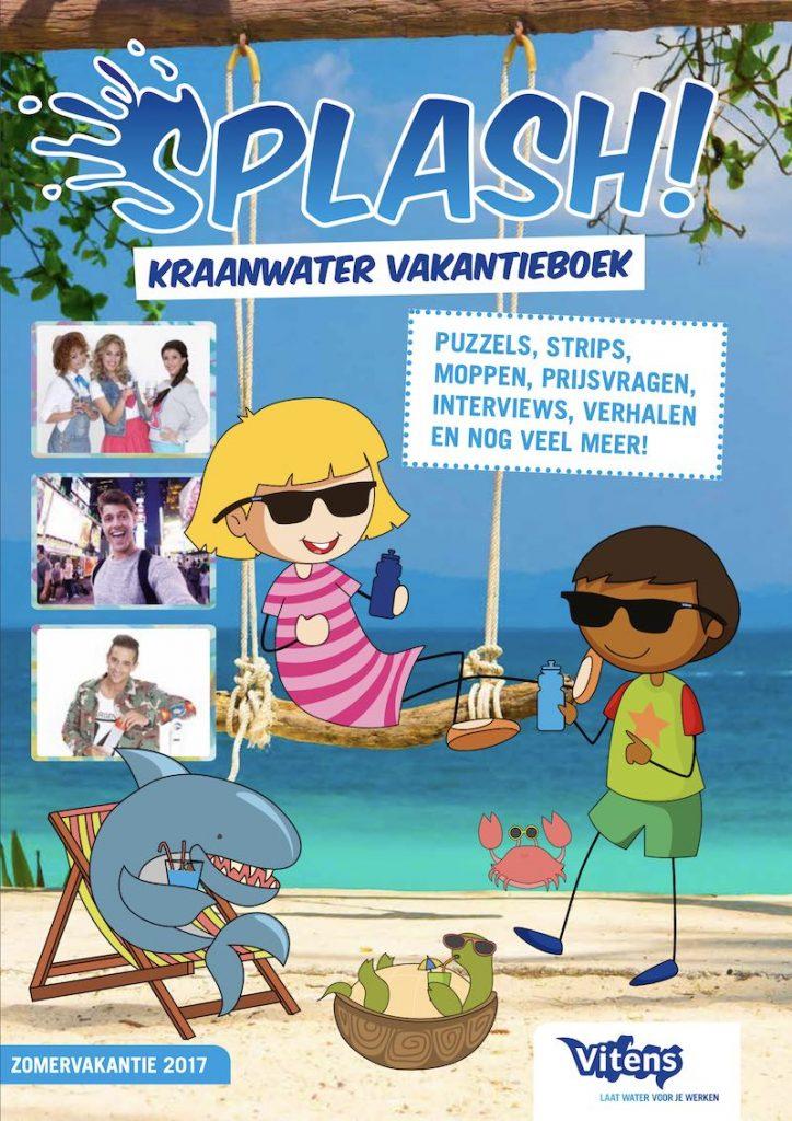 Splash gratis vakantieboek