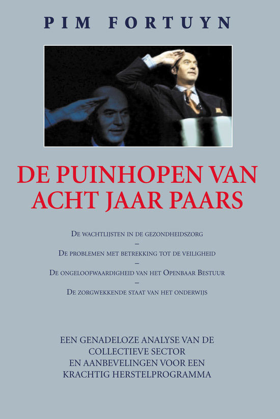 download de puinhopen van 8 jaar paars Pim Fortuyn ebook